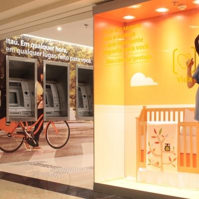 Agência Banco Itaú - Bourbon Shopping Pompéia - São Paulo - SP