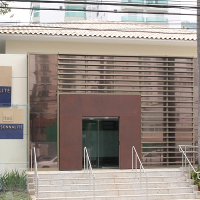 Agência Banco Itaú Personnalité - São Vicente - SP